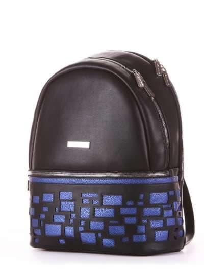 Школьный рюкзак, модель 181431 черный. Фото товара, вид сзади.