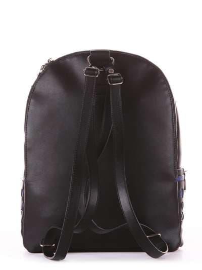 Школьный рюкзак, модель 181431 черный. Фото товара, вид дополнительный.