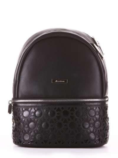 Модный рюкзак, модель 181434 черный. Фото товара, вид сбоку._product-ru