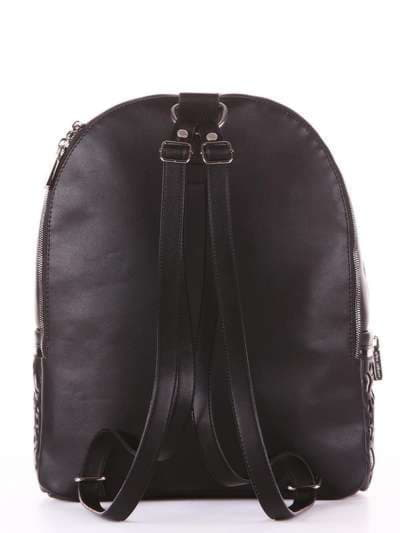 Модный рюкзак, модель 181434 черный. Фото товара, вид дополнительный.