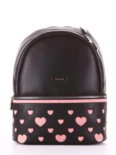 Брендовый рюкзак, модель 181435 черный. Фото товара, вид сбоку._product-ru