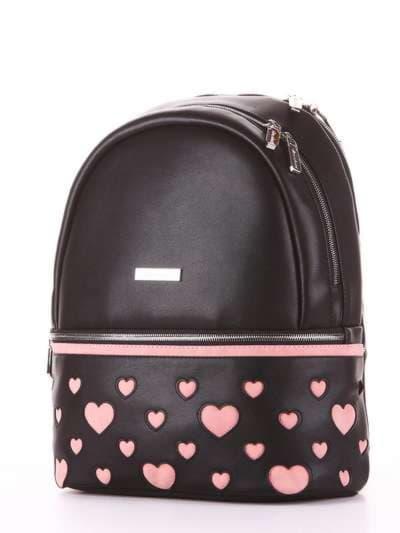 Брендовый рюкзак, модель 181435 черный. Фото товара, вид сзади.