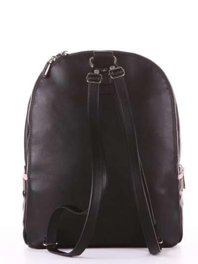 Брендовый рюкзак, модель 181435 черный. Фото товара, вид дополнительный.