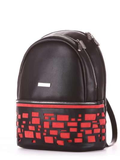 Брендовый рюкзак, модель 181436 черный. Фото товара, вид сзади.