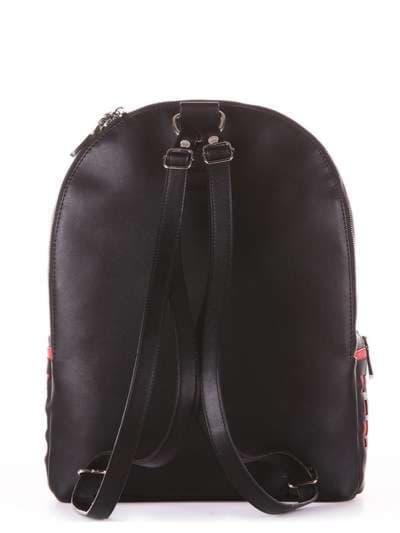 Брендовый рюкзак, модель 181436 черный. Фото товара, вид дополнительный.