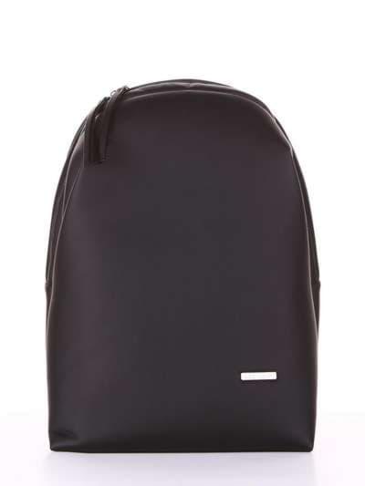 Школьный рюкзак, модель 181452 черный. Фото товара, вид сбоку.