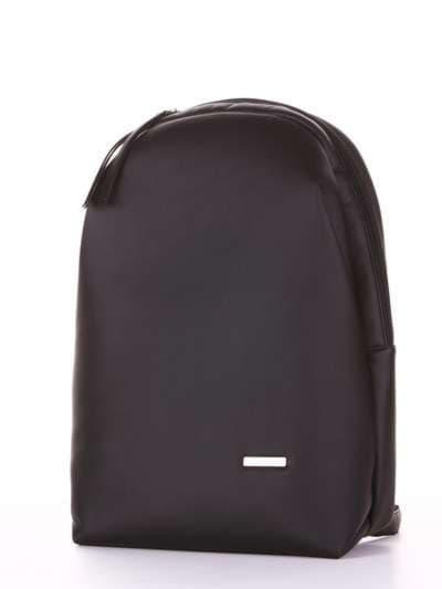Школьный рюкзак, модель 181452 черный. Фото товара, вид сзади.