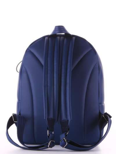 Модный рюкзак, модель 181462 синий. Фото товара, вид дополнительный.