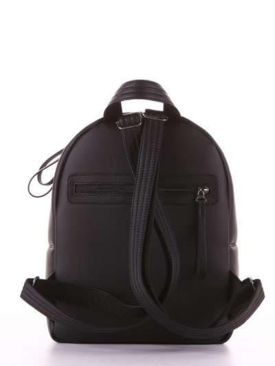 Стильный рюкзак, модель 181471 черный. Фото товара, вид дополнительный.