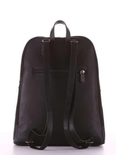 Модный рюкзак, модель 181501 черный. Фото товара, вид дополнительный.