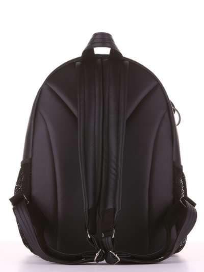 Брендовый рюкзак, модель 181542 черный. Фото товара, вид дополнительный.