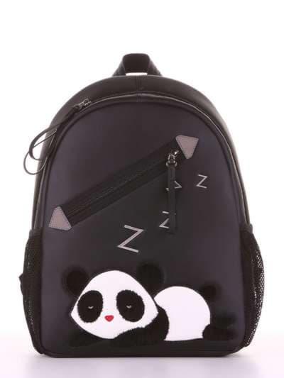Школьный рюкзак, модель 181543 черный. Фото товара, вид сбоку.