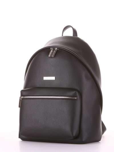 Брендовый рюкзак, модель 181711 черный. Фото товара, вид сзади.
