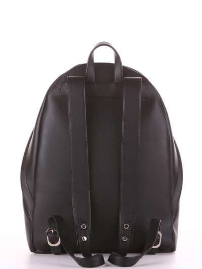 Брендовый рюкзак, модель 181711 черный. Фото товара, вид дополнительный.