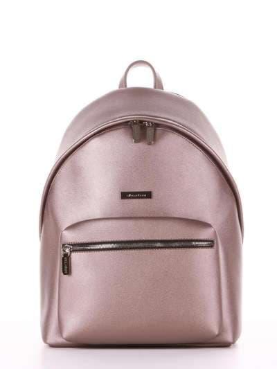 Школьный рюкзак, модель 181713 бронза. Фото товара, вид сбоку._product-ru