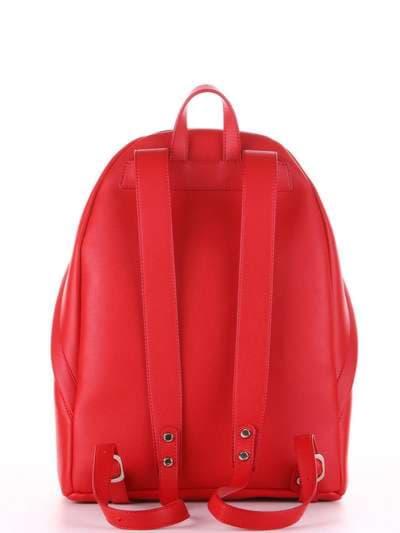 Брендовый рюкзак, модель 181716 красный. Фото товара, вид дополнительный.