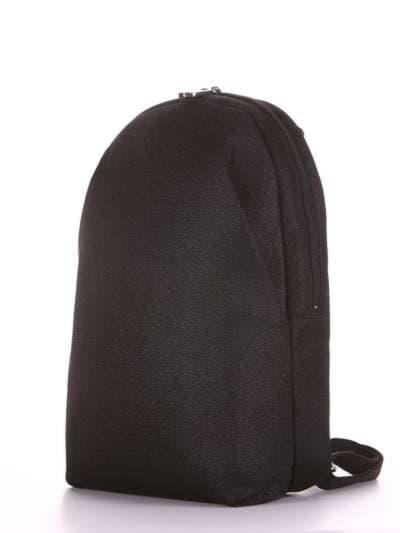 Брендовый рюкзак, модель e18121 черный. Фото товара, вид сзади.