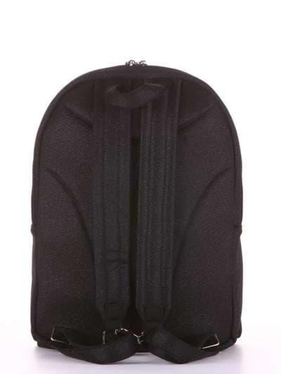 Брендовый рюкзак, модель e18121 черный. Фото товара, вид дополнительный.