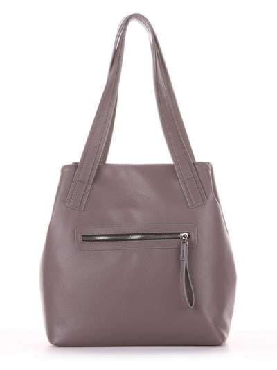 Школьная сумка, модель 181414 темно-серый. Фото товара, вид дополнительный.