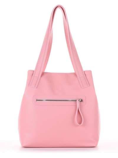 Молодежная сумка, модель 181415 пудрово-розовый. Фото товара, вид дополнительный.