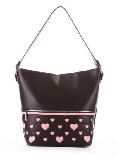Школьная сумка, модель 181445 черный. Фото товара, вид сбоку._product-ru