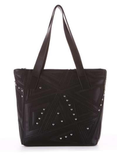Школьная сумка, модель 181511 черный. Фото товара, вид сбоку._product-ru