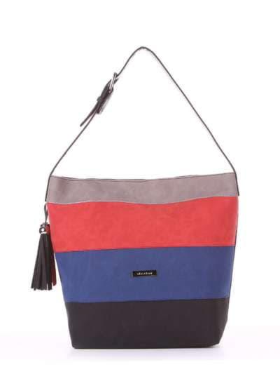 Школьная сумка, модель 181811 черный. Фото товара, вид спереди.