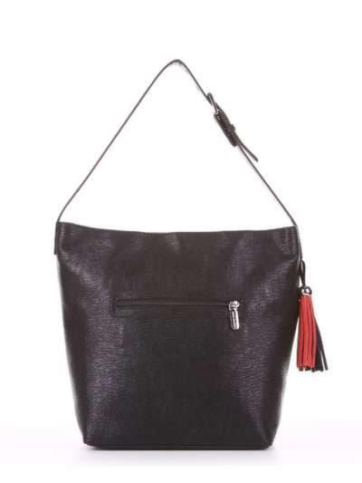 Школьная сумка, модель 181811 черный. Фото товара, вид дополнительный.