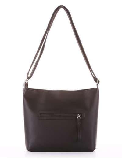 Брендовая сумка через плечо, модель 181481 черный. Фото товара, вид дополнительный.