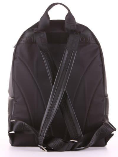 Стильный рюкзак - unisex, модель 181601 черный. Фото товара, вид дополнительный.