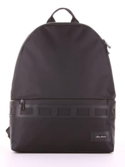 Школьный рюкзак - unisex, модель 181611 черный. Фото товара, вид сбоку.