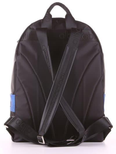 Женский рюкзак - unisex, модель 181613 черно-синий. Фото товара, вид дополнительный.