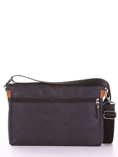 Брендовая сумка, модель 181633 черный. Фото товара, вид дополнительный.