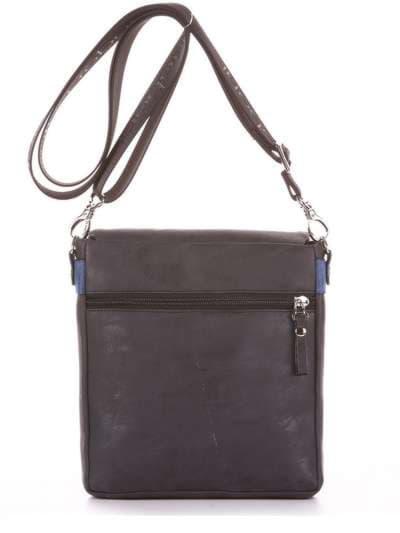Модная сумка через плечо, модель 181642 черный. Фото товара, вид дополнительный.