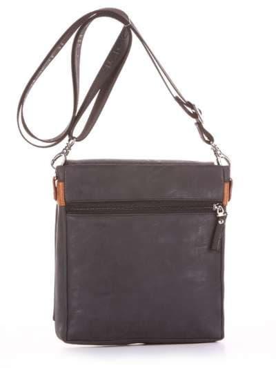 Модная сумка через плечо, модель 181643 черный. Фото товара, вид дополнительный.
