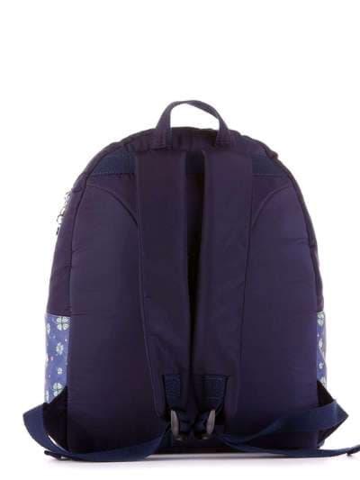 Брендовый рюкзак, модель 183852 синий. Фото товара, вид дополнительный.