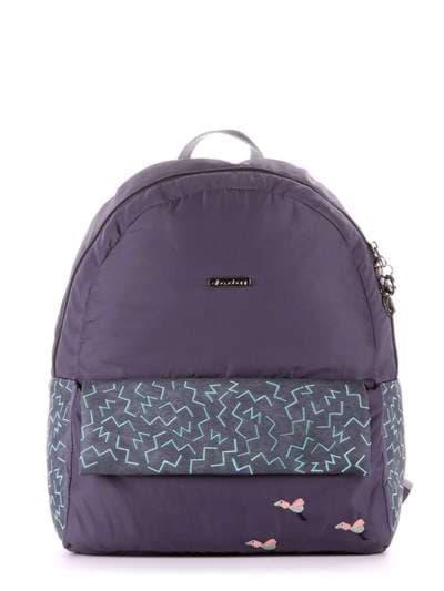 Брендовый рюкзак, модель 183854 серый. Фото товара, вид сбоку.