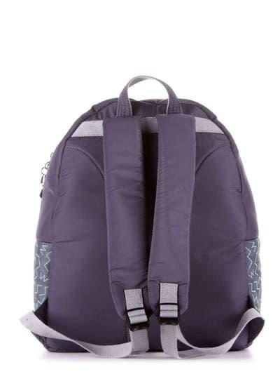 Брендовый рюкзак, модель 183854 серый. Фото товара, вид дополнительный.