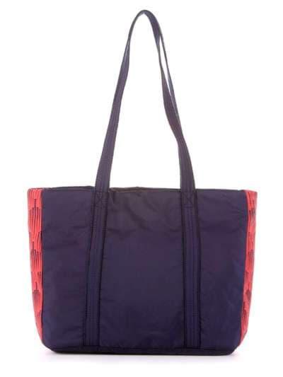 Брендовая сумка, модель 183861 сине-красный. Фото товара, вид дополнительный.