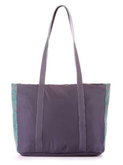 Молодежная сумка, модель 183863 серо-зеленый. Фото товара, вид дополнительный.