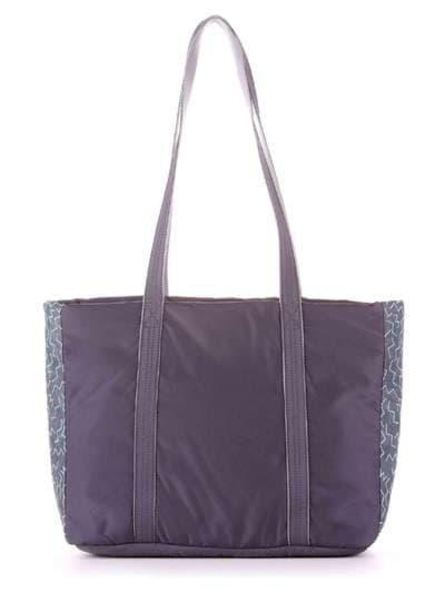 Модная сумка, модель 183864 серый. Фото товара, вид дополнительный.
