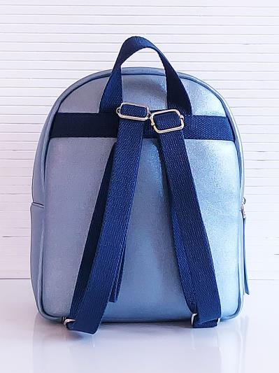 alba soboni. Рюкзак KH0143 блакитний. Вид 4.