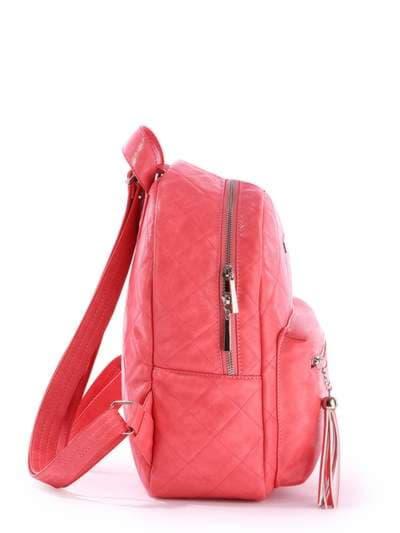 Брендовый рюкзак, модель 171534 коралловый. Фото товара, вид сзади.