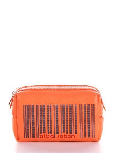 alba soboni. Косметичка 622 оранжевий. Вид 1.