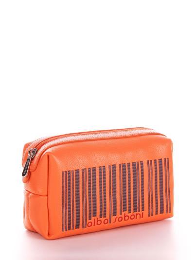 alba soboni. Косметичка 622 оранжевий. Вид 2.