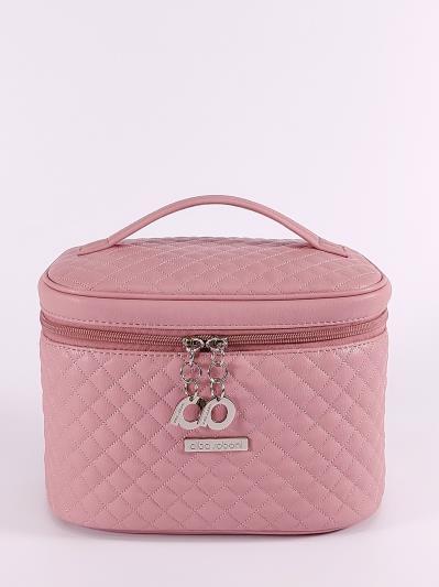 alba soboni. Косметичка 640 пудрово-розовый. Вид 1.