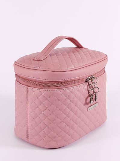 alba soboni. Косметичка 640 пудрово-розовый. Вид 2.