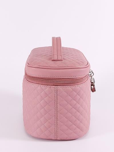 alba soboni. Косметичка 640 пудрово-розовый. Вид 3.