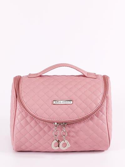 alba soboni. Косметичка 650 пудрово-розовый. Вид 1.