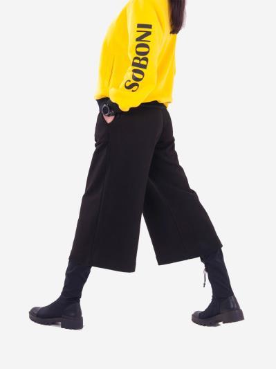 alba soboni. Жіночий костюм з кюлотами L (202-001-01). Вид 4.